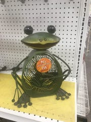 This frog figurine fan can be found at Ace Hardware.
