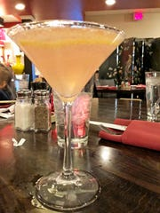 Rose ginger cocktail special at Red Sun.