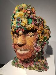 Loko Fleuri by Edouard Duval-Carrie at the FSU Museum of Fine Arts.