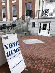 Early voting is underway at Burlington's City Hall on Saturday, March 3 2018