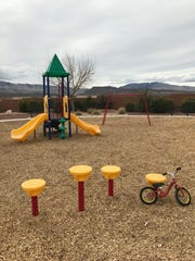A playground in Ivins.