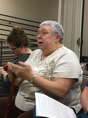 Donna Witherspoon tells Greenbrier city leaders she's against a proposed subdivision that would bring almost 350 homes to the city.