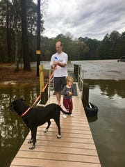 Pets are allowed in North Toledo Bend State Park on