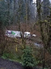A Hillsboro man died after failing to negotiate a curve