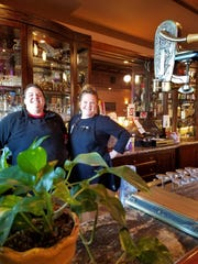 Chef Jessica Keys, left, and owner Paige Miller welcome patrons to the Highland Inn on north First Avenue.