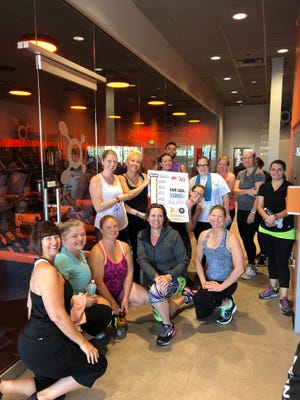 Thank you to the Orange Theory Fitness participants who participated in the Augie's Quest fundraiser!