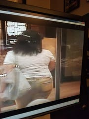 Woman caught on surveillance video attempting to steal