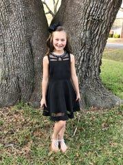 Madison Freeman, a third-grader at Roberts Elementary,