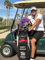 Berry Henson of Palm Desert is in his eighth year on the Asian Tour, but he still hopes to play the PGA Tour soon.