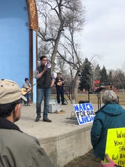 "Rep. Jacob Bachmeier, D-Havre, encouraged young people to run for office. ""If you're old enough to register to vote, you're old enough to run for Montana Legislature,"" he told the crowd at the Great Falls March For Our Lives on Saturday."