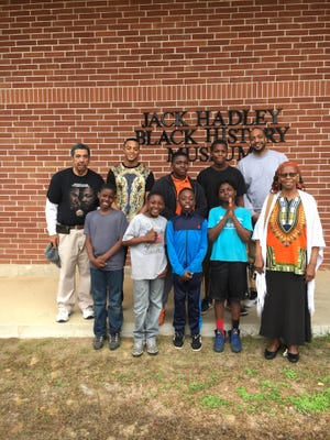 Steve Beasley and Miaisha Mitchell, are working with the Suwannee River Area Council of the Boy Scouts of America. They recently took their troop to the Black History Museum in Thomasville, Georgia.