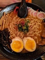Miso Spicy Ramen at Yatagarasu.  Emma Ea Ambrose Miso