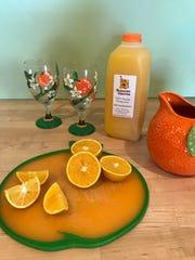 Orange juice from Schacht Groves