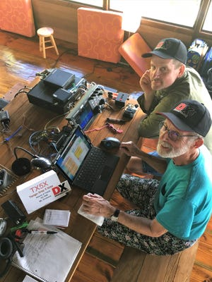 Bill Kendall, lower, and his son William, top, are pictured. Bill Kendall will speak at the upcoming Fond du Lac Amateur Radio Club meeting.
