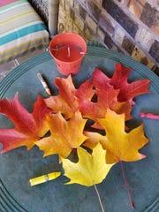 """""""Coloring Leaves"""" by Tom Walker."""