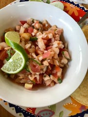 Ceviche from from Tacos San Miguel II in Cape Coral.