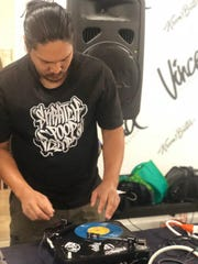 Skratcher Guam co-founder Junior Corpuz scratching