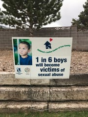April is Child Abuse Awareness Month. Posters with