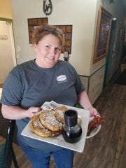 Vicki Schmitt of the Frontier Restaurant and Bar with