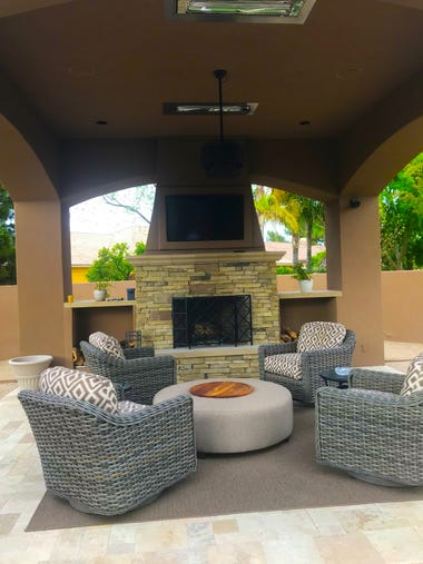 home decor stores chandler az chandler home combines modern decor and outdoor comfort 12451