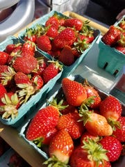 Strawberries are available now at early spring tailgate