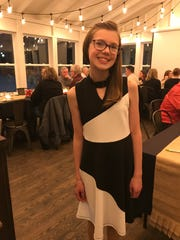 Eloise Massee, a seventh-grader at Bay View Middle School, reached out to Spork Cafe & Catering to do a vegetarian tasting menu as part of a school project.