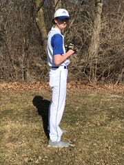 Assumption left-hander Ethan Peters emerged as one of the top pitchers in central Wisconsin. He posted a 7-3 record with a 1.16 earned run average.