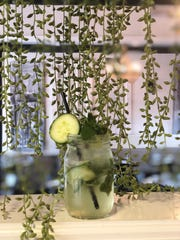 Doesn't that look refreshing? A mint-cucumber cooler