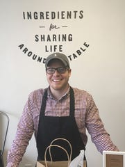Clayton Lile co-owns Tantara Farms with his wife and in-laws. The store stocks gourmet balsamic vinegars, infused oils, spices, teas, coffee and more.
