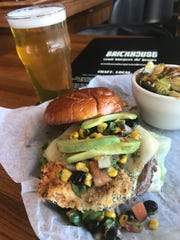 Elk El Jefe Burger at Brickhouse Craft Burgers & Brews