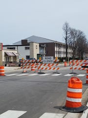 Construction started April 23 on the final planned