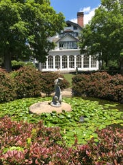 Ringwood Manor's grounds, as seen on June 22, 2017,
