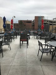 The rooftop patio at Fat Joe's offers views from above of downtown Fond du Lac.