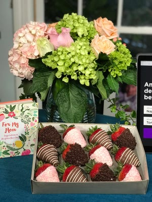 Flowers and candy from FTD and Shari's Berries. FTD has filed for Chapter 11 bankruptcy protection.