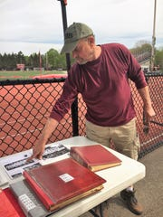 Bob Stevralia, a defenseman on the first Boonton lacrosse
