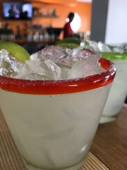 Margaritas are a specialty at MezCali Taqueria in Dewey Beach.