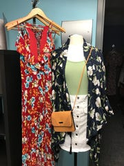Clothing from Belle Row Boutique.