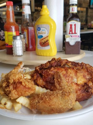 The famous former Bon Ton Mini Mart chicken is once again available under a different name -- Roadfood chicken, at Brown Bag Burgers