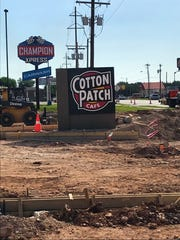 The Cotton Patch Cafe is set to open in San Angelo June 5, 2018.