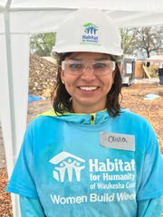 Habitat for Humanity future homeowner Olivia Odegard