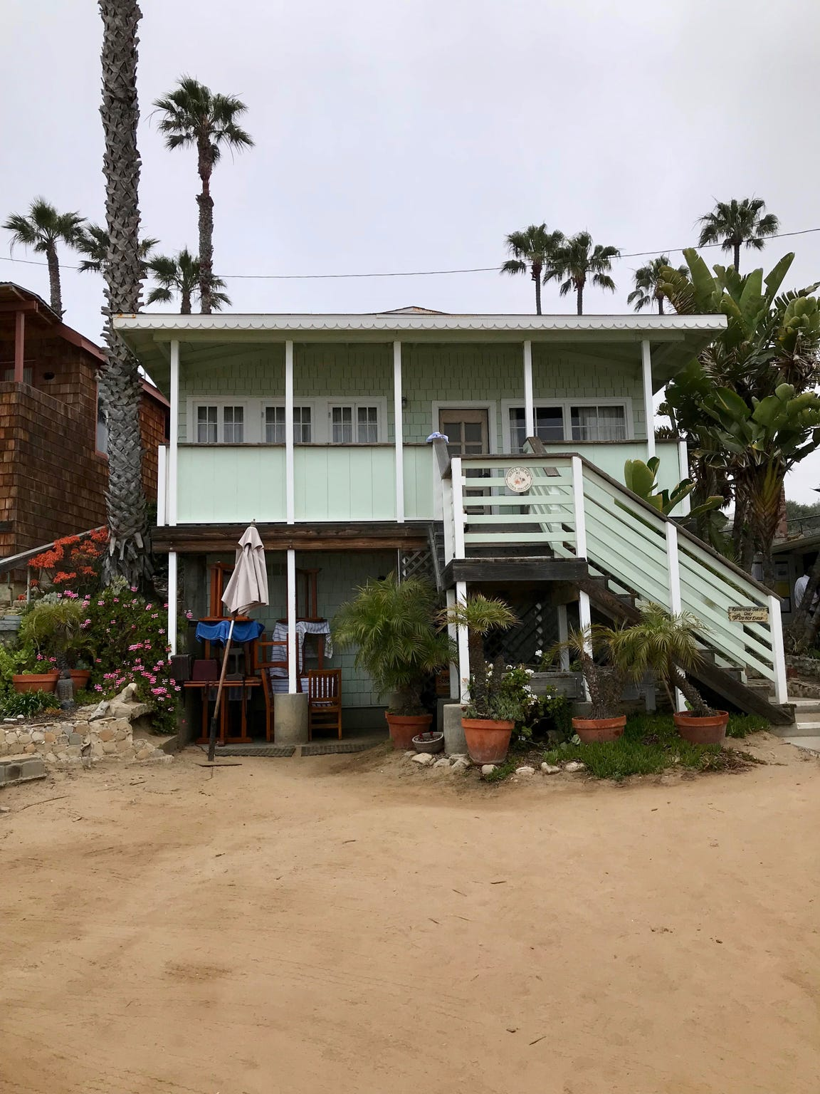 A historic beach cottage at Crystal Cove State Park