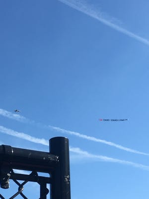 A banner flew over the Briarcliff-Irvington playoff game on Monday, calling for the ouster of Briarcliff head coach John Schrader and his assistant Walter Kowalczyk.