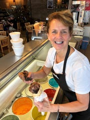 Jonna Siano first started her ice cream catering truck