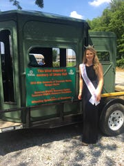 Miss UT Martin Morgan Martin donated a wheelchair accessible