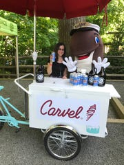 Captain Lawrence has a new collaborator: Carvel Ice Cream. Journal News food writer explores with Fudgie The Whale.