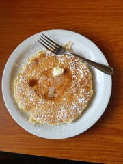 Pancakes are among the lengthy list of breakfast items at Nellie's.