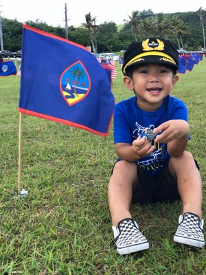 Photo of the Week winner Acie Jo Sablan Cruz captured a photo of her aspiring pilot Asher Jordan Sablan Cruz as he was visiting the Asan Memorial Park on Memorial Day 2018 to honor those who made the ultimate sacrifice.