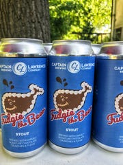 Fudgie the Beer is a collaboration between Captain