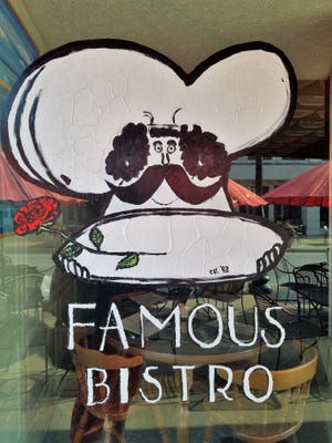 The Famous Bistro was one of the earlier businesses that took a chance on locating in Owensboro's downtown, which has come back to life around it.