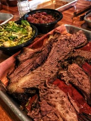 Brisket at Southbound BBQ in  Chestnut Ridge. Photographed